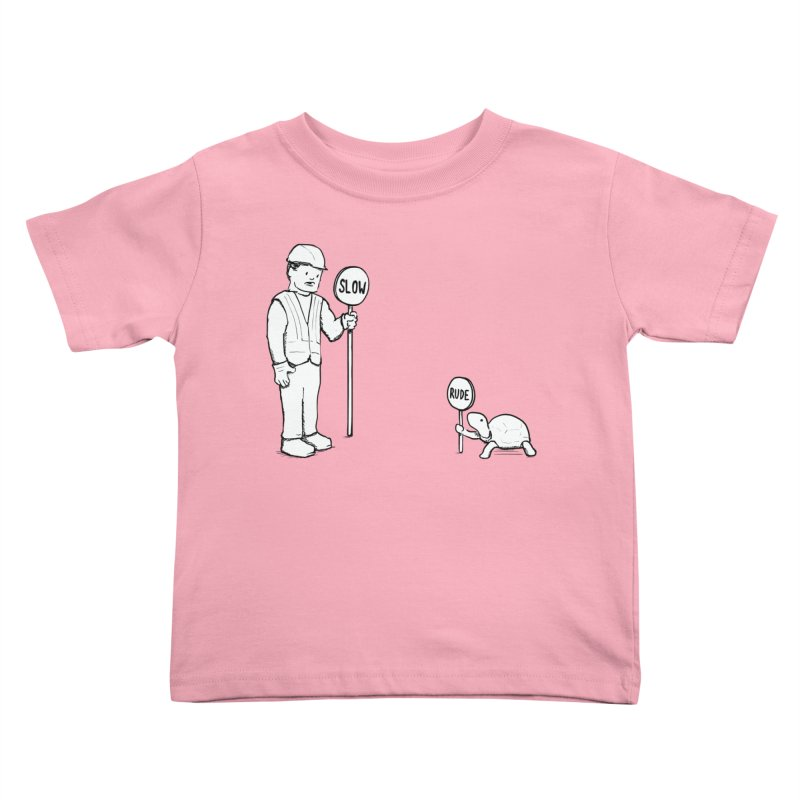 Rude! Kids Toddler T-Shirt by nathanwpyle's Artist Shop