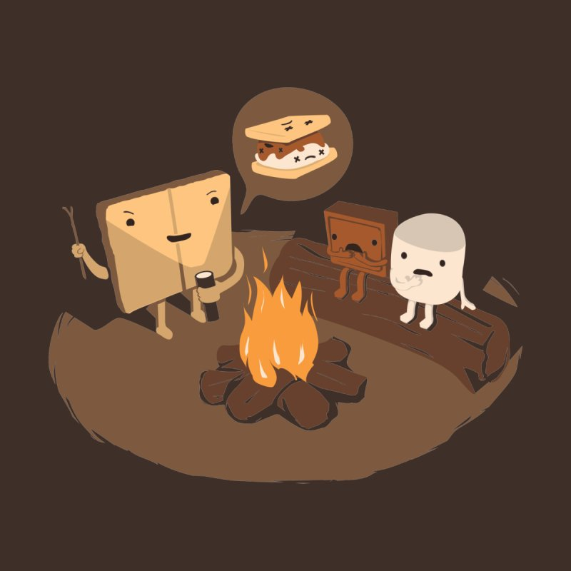 Tell Us S'more Accessories Magnet by Nathan W Pyle