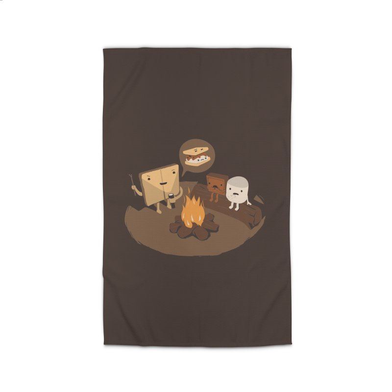 Tell Us S'more Home Rug by Nathan W Pyle