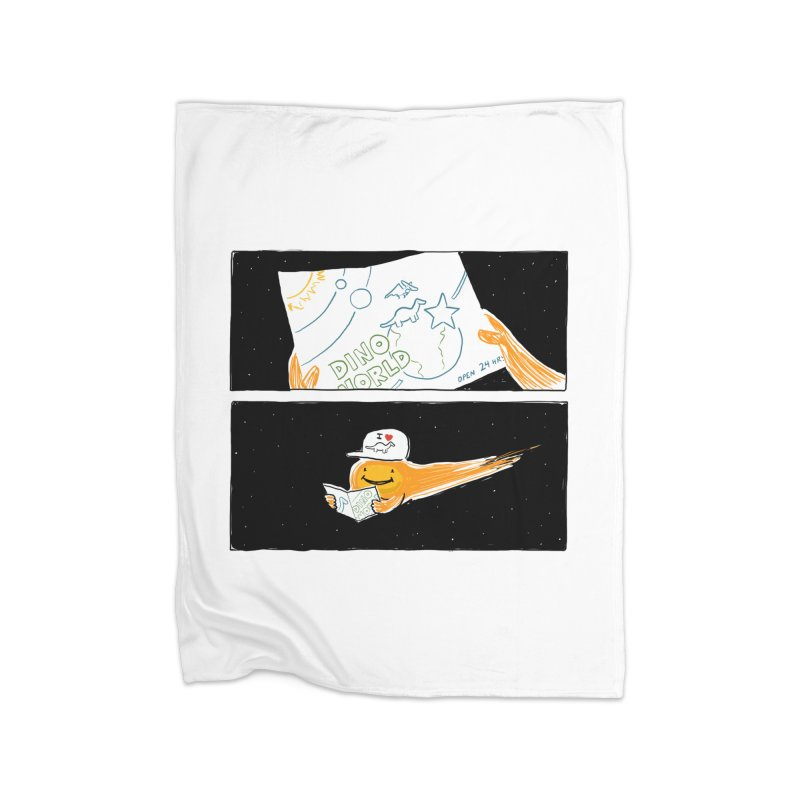 SADDEST THING I'VE DRAWN Home Fleece Blanket Blanket by Nathan W Pyle