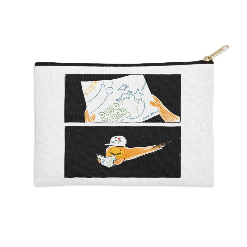 SADDEST THING I'VE DRAWN Accessories Zip Pouch by Nathan W Pyle