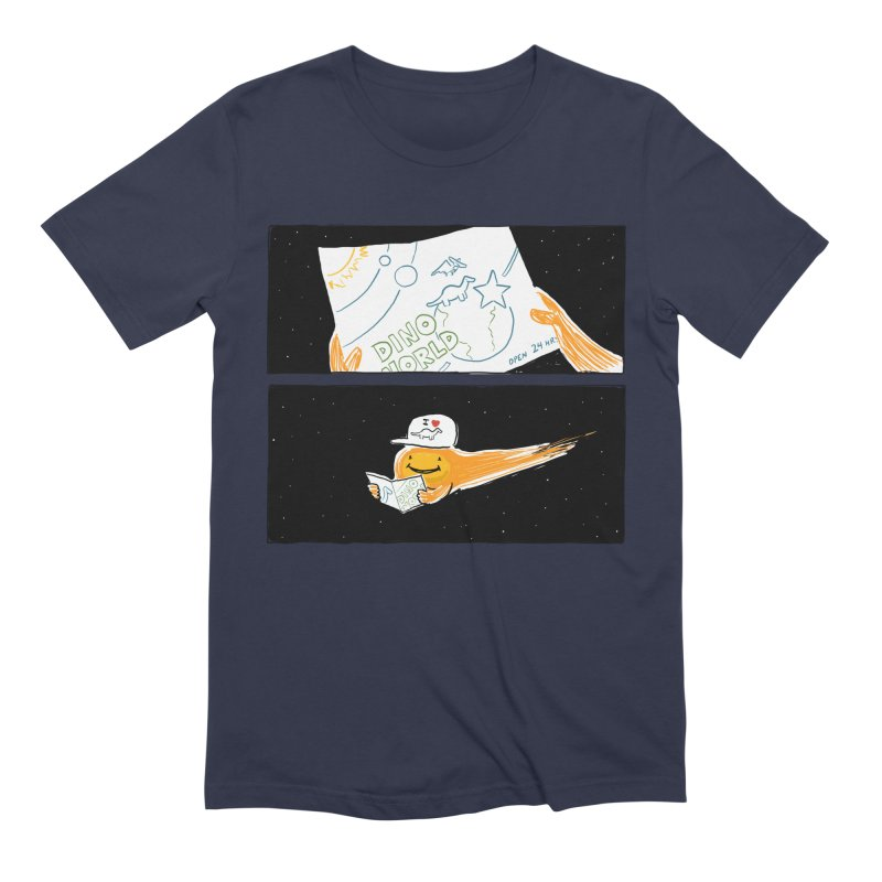 SADDEST THING I'VE DRAWN in Men's Extra Soft T-Shirt Navy by Nathan W Pyle