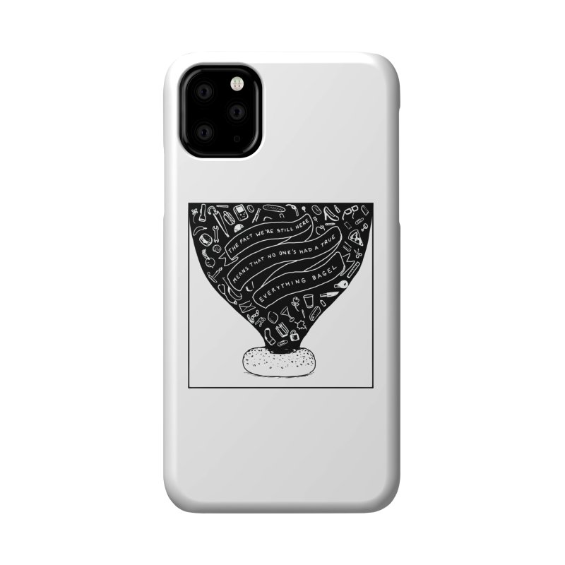 EVERYTHING BAGEL Accessories Phone Case by Nathan W Pyle