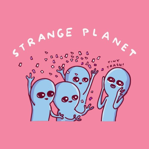 Design for STRANGE PLANET SPECIAL PRODUCT- PARTY