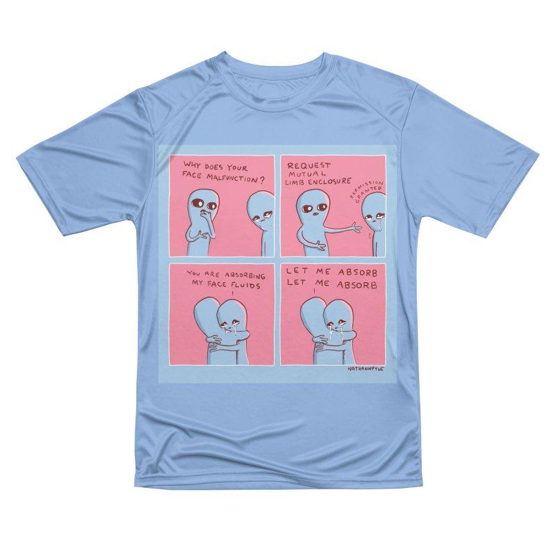 STRANGE PLANET: LET ME ABSORB Men's T-Shirt by Nathan W Pyle