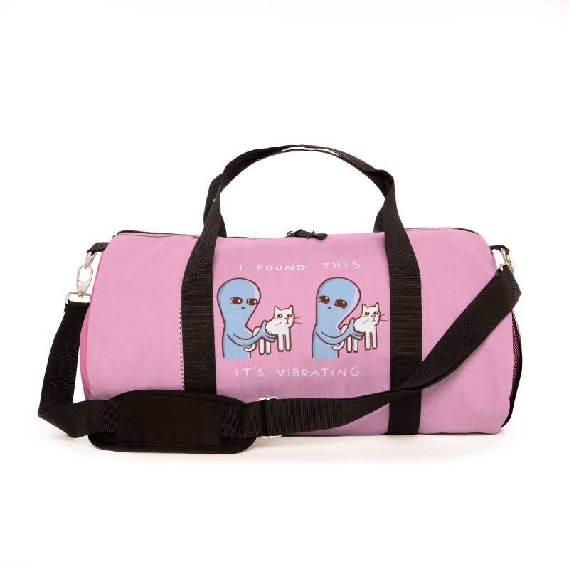 STRANGE PLANET SPECIAL PRODUCT: I FOUND THIS IT'S VIBRATING Accessories Bag by Nathan W Pyle