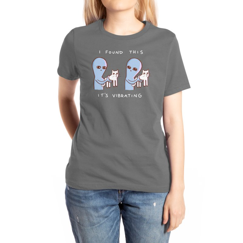 STRANGE PLANET SPECIAL PRODUCT: I FOUND THIS IT'S VIBRATING Women's T-Shirt by Nathan W Pyle