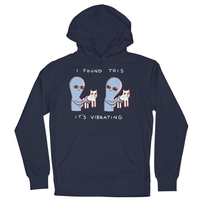 STRANGE PLANET SPECIAL PRODUCT: I FOUND THIS IT'S VIBRATING Men's Pullover Hoody by Nathan W Pyle