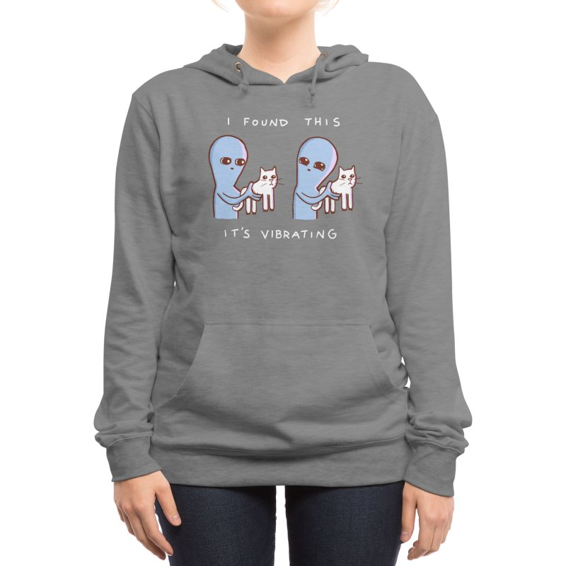 STRANGE PLANET SPECIAL PRODUCT: I FOUND THIS IT'S VIBRATING Women's Pullover Hoody by Nathan W Pyle Shop | Strange Planet Store | Thread
