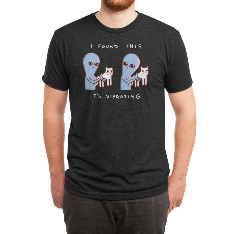 STRANGE PLANET SPECIAL PRODUCT: I FOUND THIS IT'S VIBRATING Men's T-Shirt by Nathan W Pyle Shop | Strange Planet Store | Thread