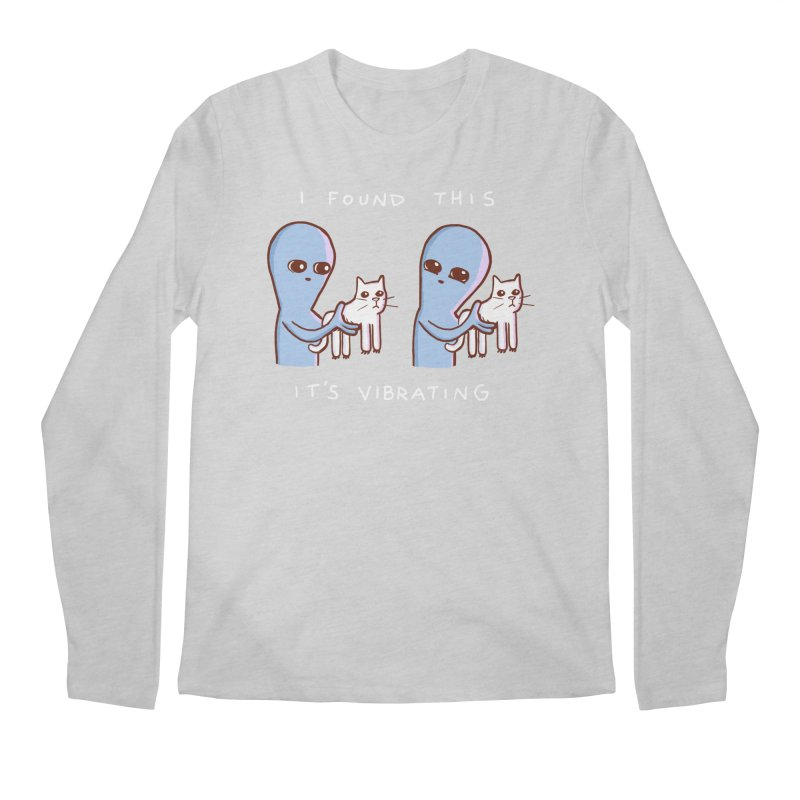 STRANGE PLANET SPECIAL PRODUCT: I FOUND THIS IT'S VIBRATING Men's Longsleeve T-Shirt by Nathan W Pyle