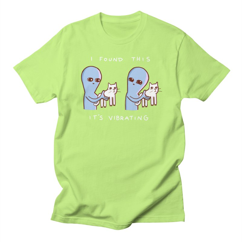 STRANGE PLANET SPECIAL PRODUCT: I FOUND THIS IT'S VIBRATING Men's T-Shirt by Nathan W Pyle