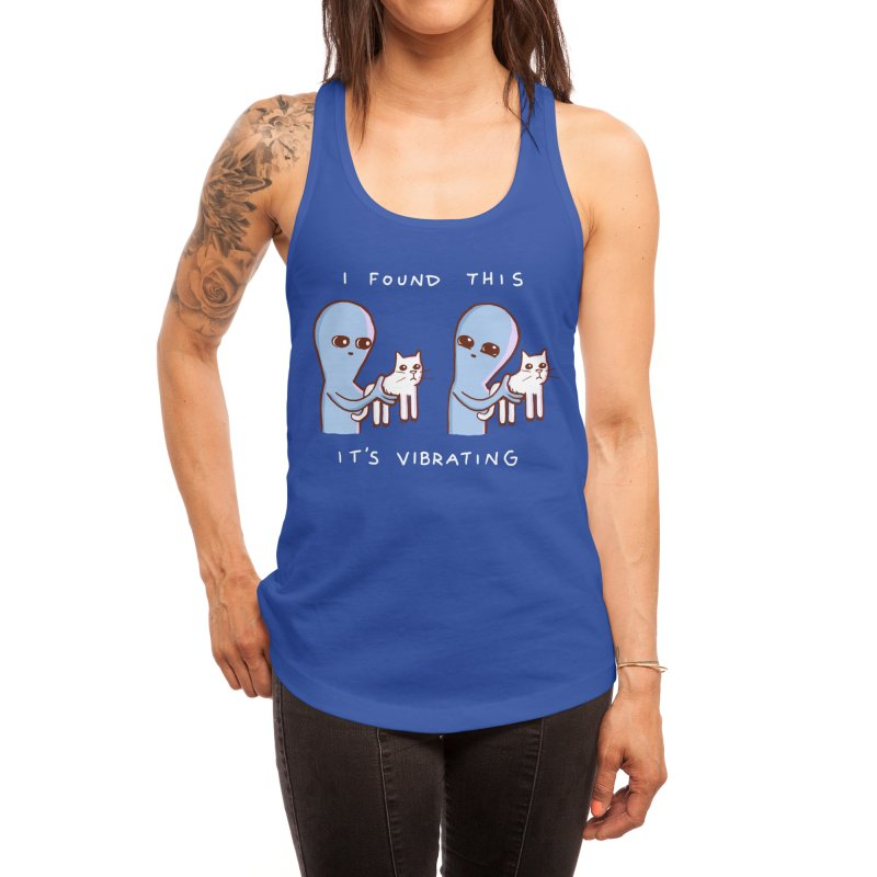 STRANGE PLANET SPECIAL PRODUCT: I FOUND THIS IT'S VIBRATING Women's Tank by Nathan W Pyle Shop | Strange Planet Store | Thread