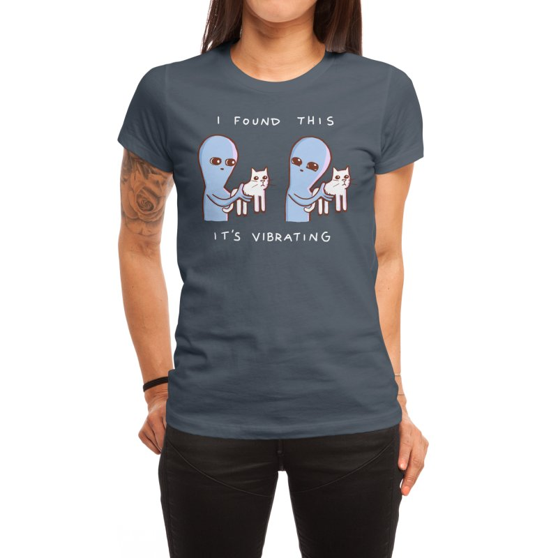 STRANGE PLANET SPECIAL PRODUCT: I FOUND THIS IT'S VIBRATING Women's T-Shirt by Nathan W Pyle Shop   Strange Planet Store   Thread
