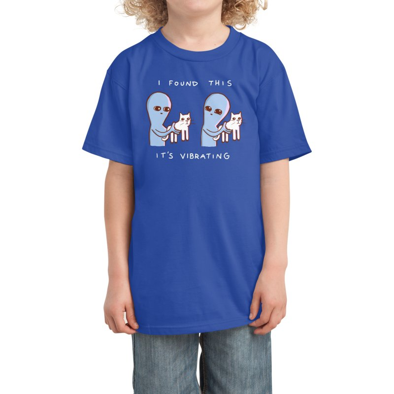 STRANGE PLANET SPECIAL PRODUCT: I FOUND THIS IT'S VIBRATING Kids T-Shirt by Nathan W Pyle Shop   Strange Planet Store   Thread