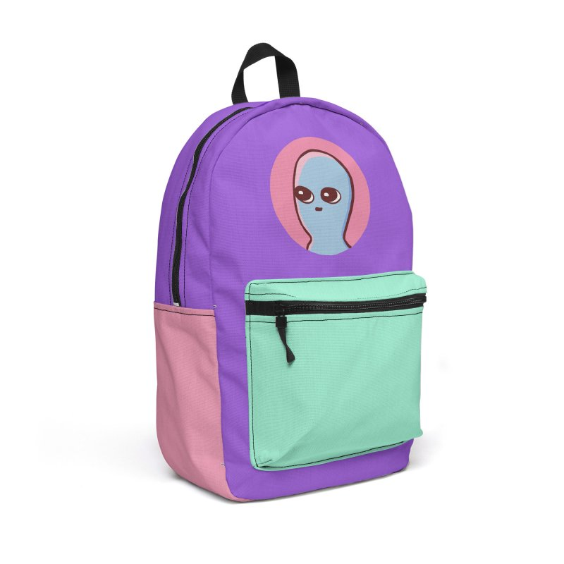 STRANGE PLANET SPECIAL PRODUCT: ICON Accessories Backpack Bag by Nathan W Pyle