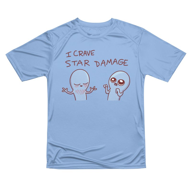 STRANGE PLANET SPECIAL PRODUCT: I CRAVE STAR DAMAGE Men's T-Shirt by Nathan W Pyle