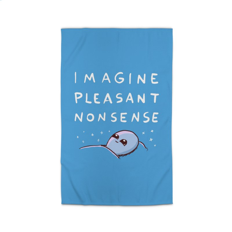 STRANGE PLANET SPECIAL PRODUCT: IMAGINE PLEASANT NONSENSE Home Rug by Nathan W Pyle Shop | Strange Planet Store | Thread