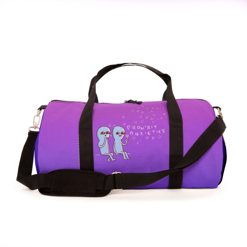 STRANGE PLANET SPECIAL PRODUCT: PROHIBIT ANXIETIES Accessories Bag by Nathan W Pyle