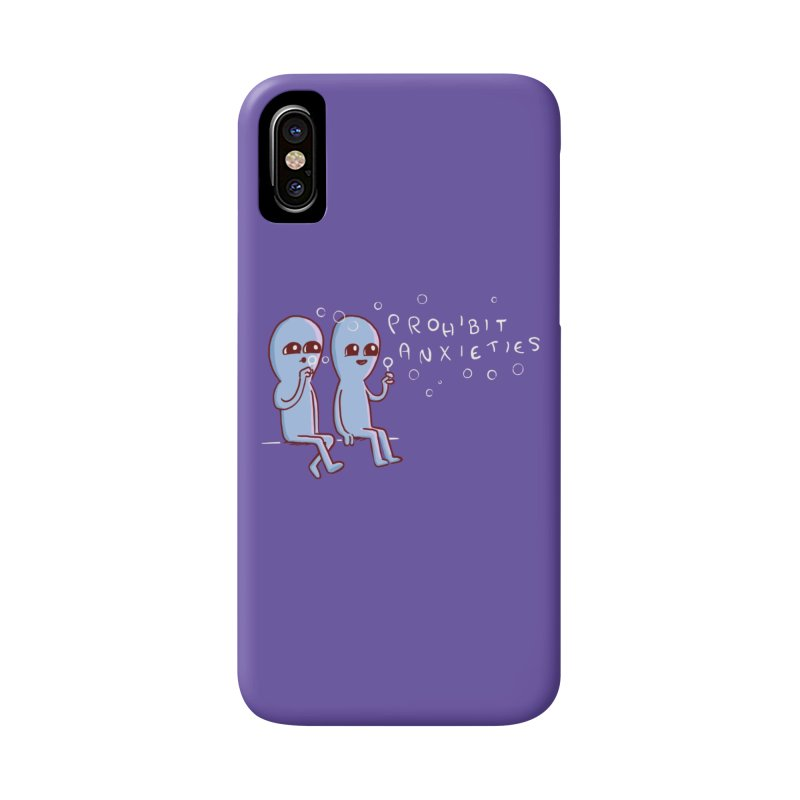 STRANGE PLANET SPECIAL PRODUCT: PROHIBIT ANXIETIES Accessories Phone Case by Nathan W Pyle