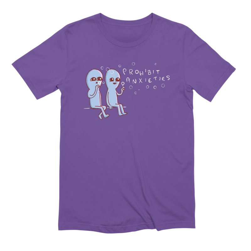 STRANGE PLANET SPECIAL PRODUCT: PROHIBIT ANXIETIES Men's T-Shirt by Nathan W Pyle