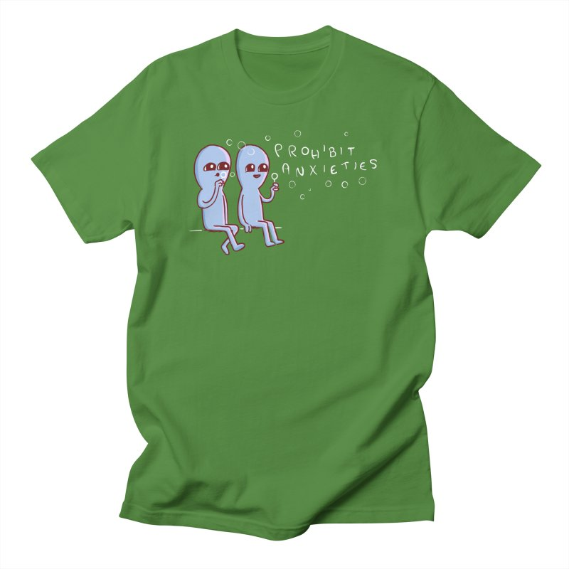 STRANGE PLANET SPECIAL PRODUCT: PROHIBIT ANXIETIES Men's T-Shirt by Nathan W Pyle Shop   Strange Planet Store   Thread
