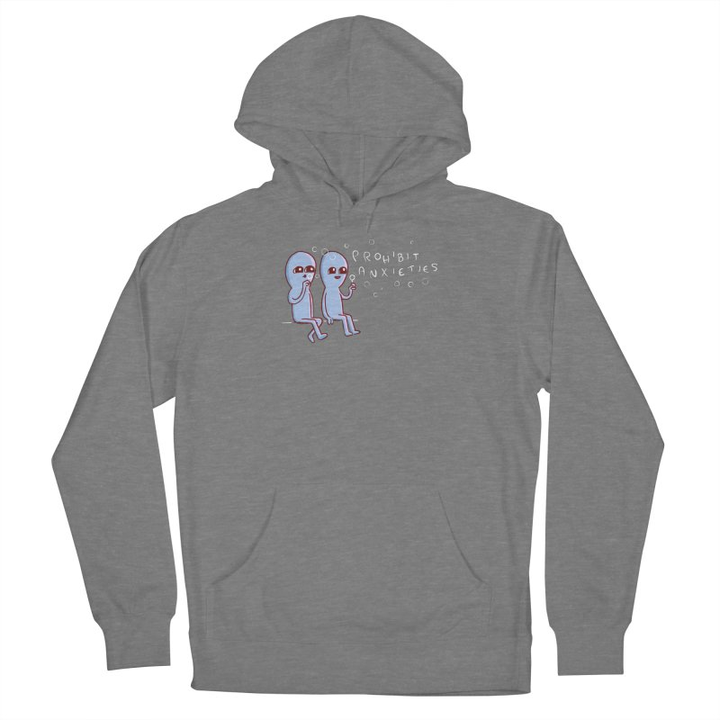STRANGE PLANET SPECIAL PRODUCT: PROHIBIT ANXIETIES Women's Pullover Hoody by Nathan W Pyle