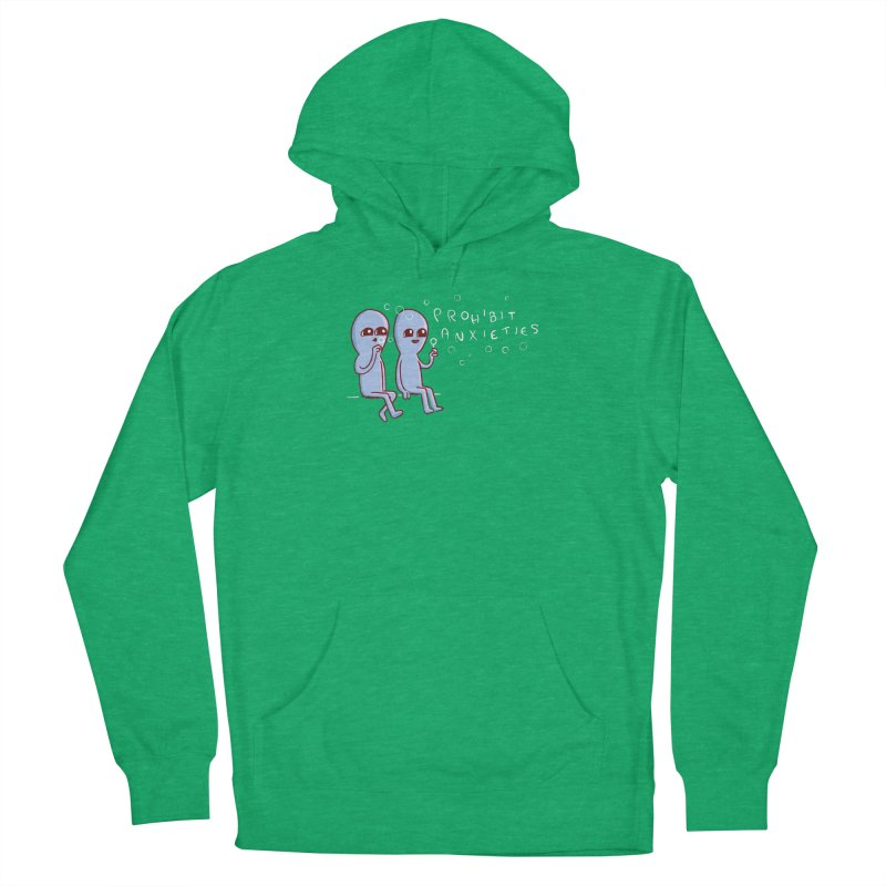 STRANGE PLANET SPECIAL PRODUCT: PROHIBIT ANXIETIES Men's Pullover Hoody by Nathan W Pyle