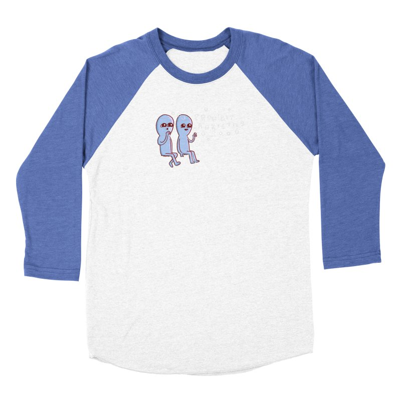 STRANGE PLANET SPECIAL PRODUCT: PROHIBIT ANXIETIES Women's Longsleeve T-Shirt by Nathan W Pyle