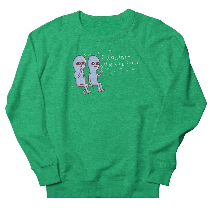 STRANGE PLANET SPECIAL PRODUCT: PROHIBIT ANXIETIES Women's Sweatshirt by Nathan W Pyle