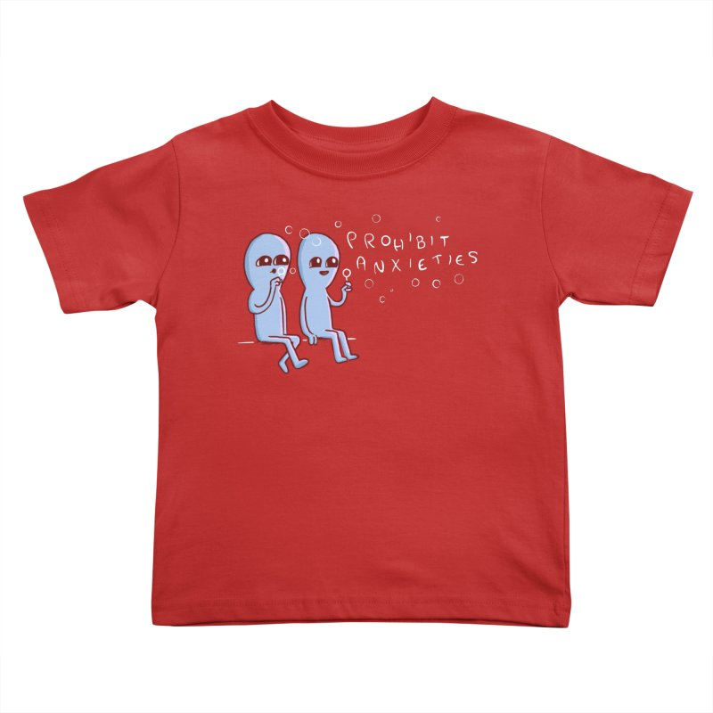 STRANGE PLANET SPECIAL PRODUCT: PROHIBIT ANXIETIES Kids Toddler T-Shirt by Nathan W Pyle