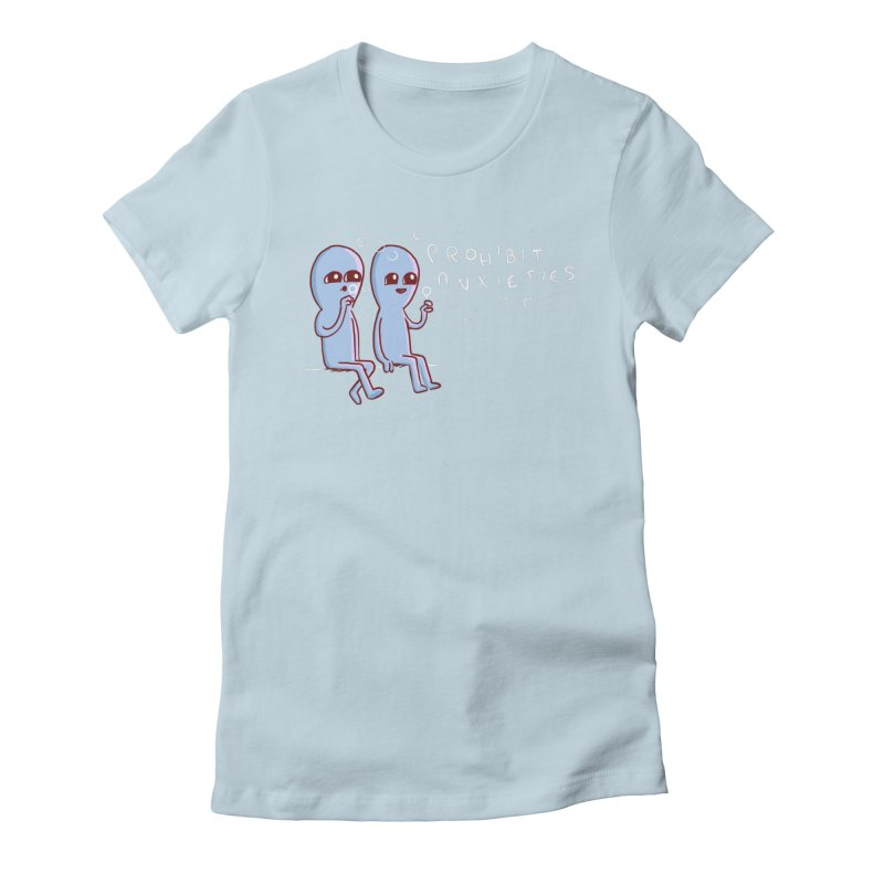 STRANGE PLANET SPECIAL PRODUCT: PROHIBIT ANXIETIES Women's T-Shirt by Nathan W Pyle