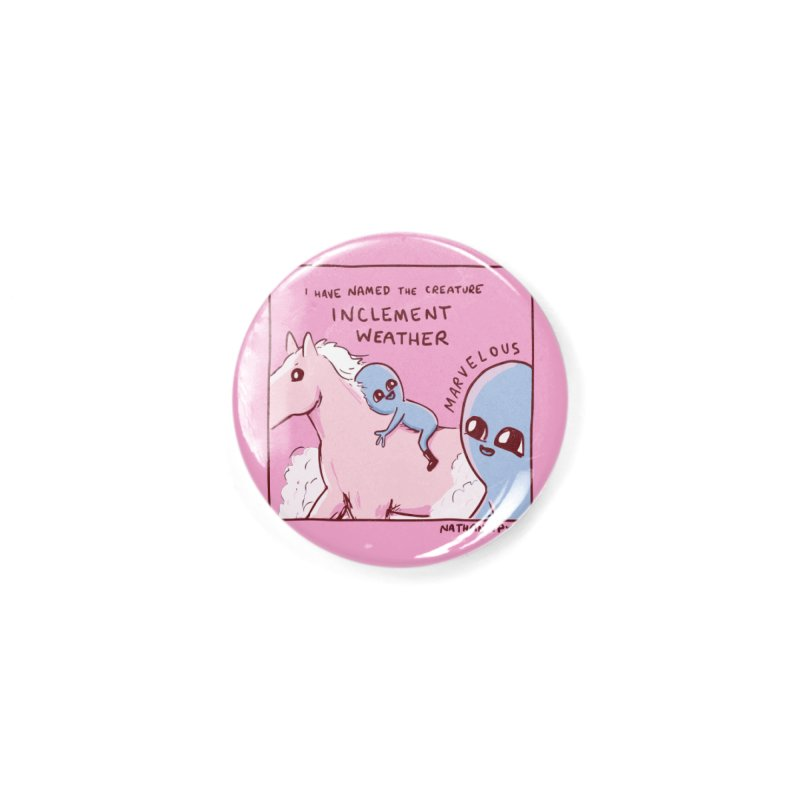 STRANGE PLANET SPECIAL PRODUCT: MARVELOUS Accessories Button by Nathan W Pyle