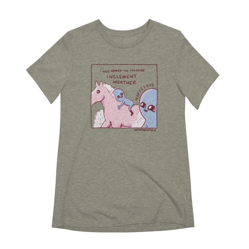 STRANGE PLANET SPECIAL PRODUCT: MARVELOUS Women's T-Shirt by Nathan W Pyle
