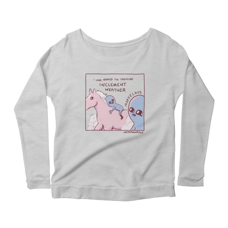 STRANGE PLANET SPECIAL PRODUCT: MARVELOUS Women's Longsleeve T-Shirt by Nathan W Pyle