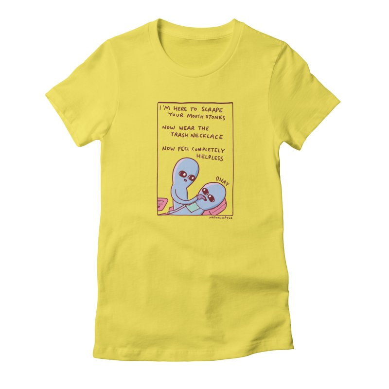 STRANGE PLANET SPECIAL PRODUCT: OHAY Women's T-Shirt by Nathan W Pyle