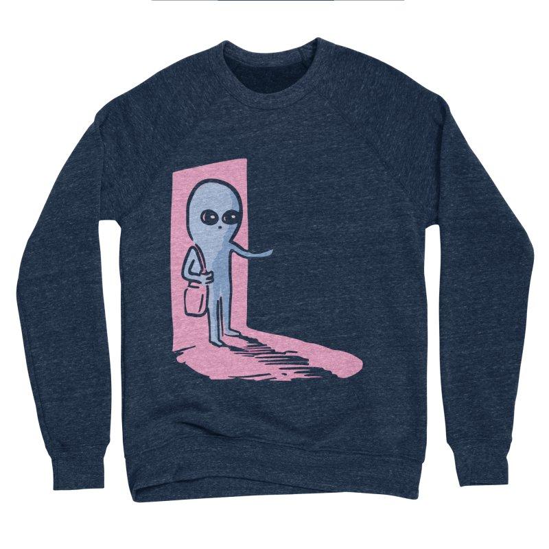 STRANGE PLANET SPECIAL PRODUCT: GREETINGS Men's Sponge Fleece Sweatshirt by Nathan W Pyle