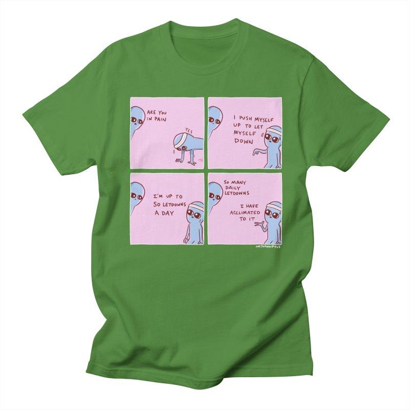 STRANGE PLANET:  p a i n Men's Regular T-Shirt by Nathan W Pyle