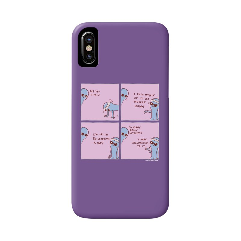 STRANGE PLANET:  p a i n Accessories Phone Case by Nathan W Pyle