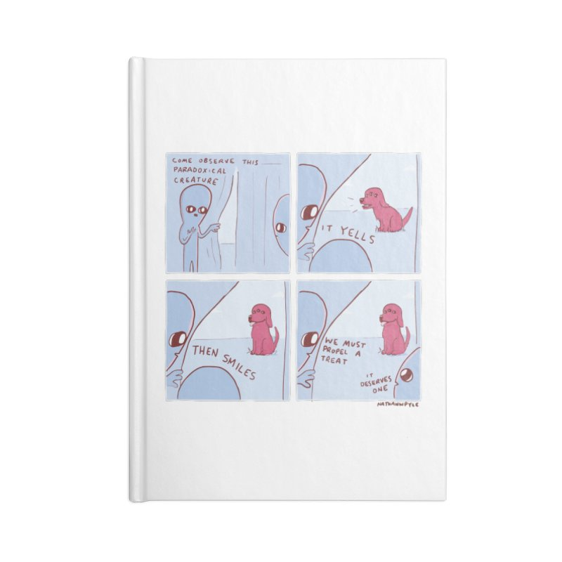 STRANGE PLANET: p a r a d o x i c a l Accessories Blank Journal Notebook by Nathan W Pyle