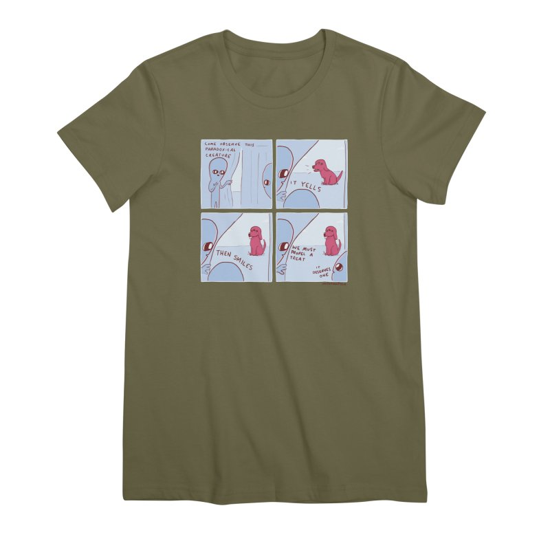 STRANGE PLANET: p a r a d o x i c a l Women's Premium T-Shirt by Nathan W Pyle
