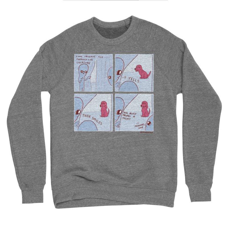 STRANGE PLANET: p a r a d o x i c a l Women's Sponge Fleece Sweatshirt by Nathan W Pyle