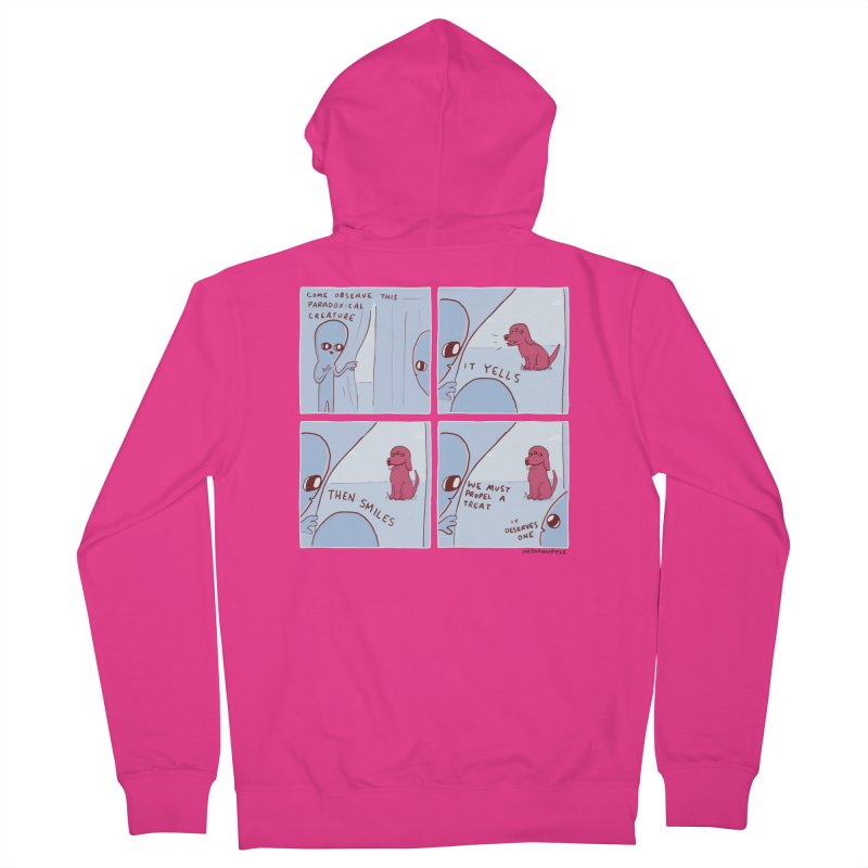 STRANGE PLANET: p a r a d o x i c a l Men's French Terry Zip-Up Hoody by Nathan W Pyle