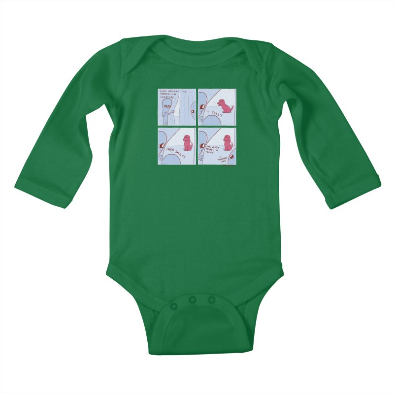 STRANGE PLANET: p a r a d o x i c a l Kids Baby Longsleeve Bodysuit by Nathan W Pyle