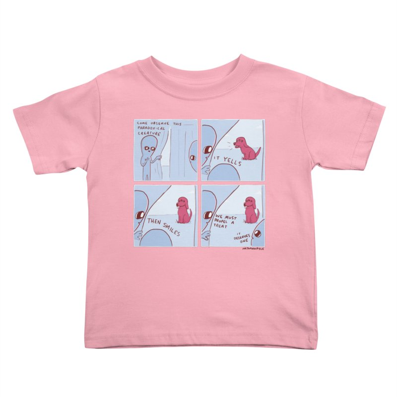 STRANGE PLANET: p a r a d o x i c a l Kids Toddler T-Shirt by Nathan W Pyle