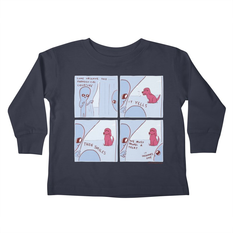 STRANGE PLANET: p a r a d o x i c a l Kids Toddler Longsleeve T-Shirt by Nathan W Pyle