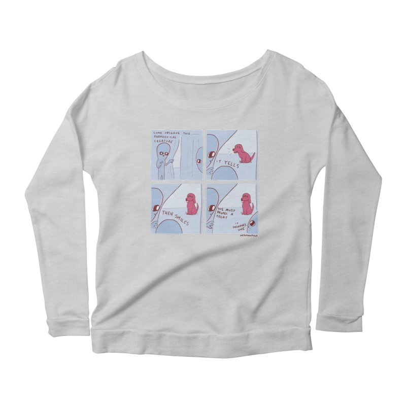 STRANGE PLANET: p a r a d o x i c a l Women's Scoop Neck Longsleeve T-Shirt by Nathan W Pyle