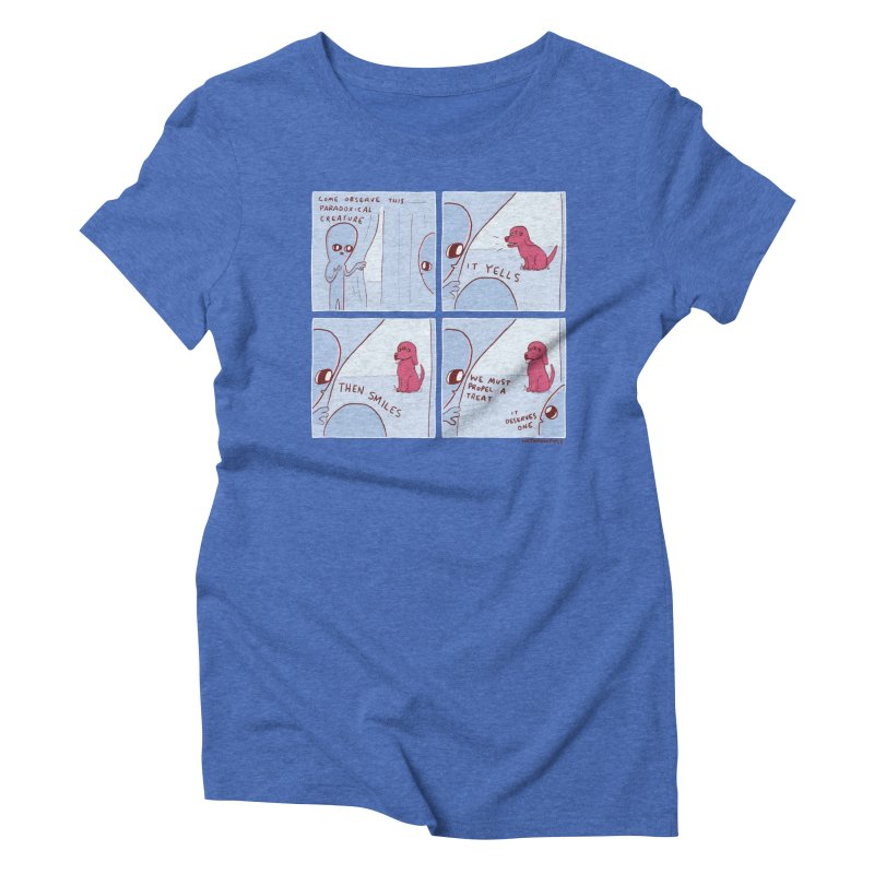 STRANGE PLANET: p a r a d o x i c a l Women's Triblend T-Shirt by Nathan W Pyle