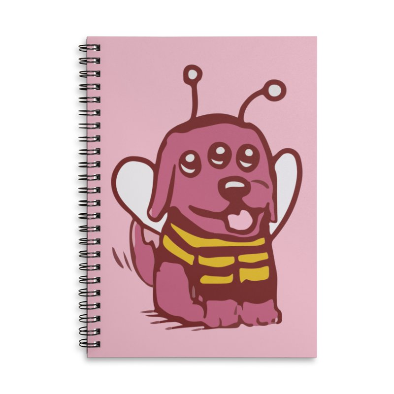 STRANGE PLANET SPECIAL PRODUCT:  OOOH DON'T STING ME Accessories Lined Spiral Notebook by Nathan W Pyle