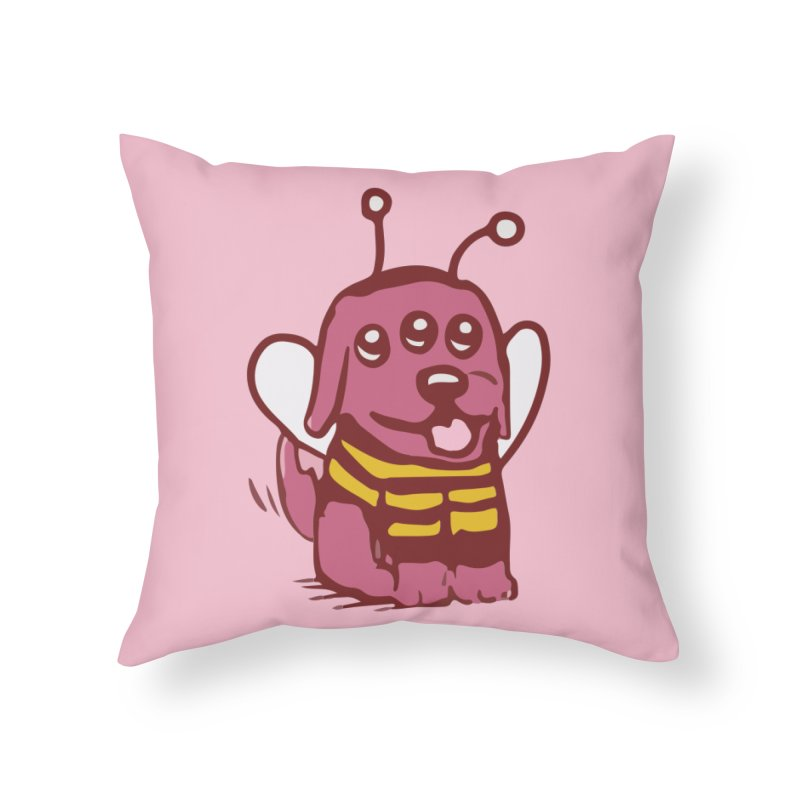 STRANGE PLANET SPECIAL PRODUCT:  OOOH DON'T STING ME Home Throw Pillow by Nathan W Pyle